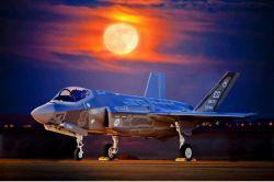 عکس رویایی از هواپیما F/35 #bar_faraz_aseman