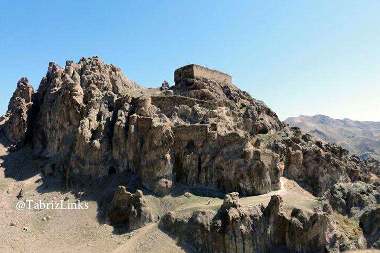 قلعه دختر شهرستان میانه آذربایجان شرقی