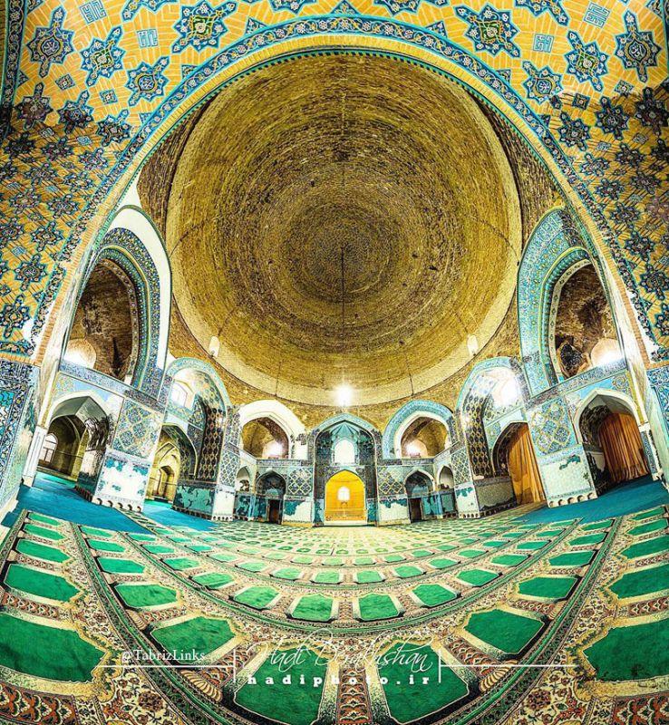 فیروزه جهان اسلام در نوروز 96 تبریز
