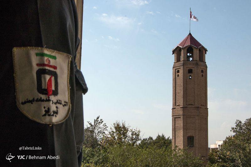 برج آتش نشانی قدیم تبریز