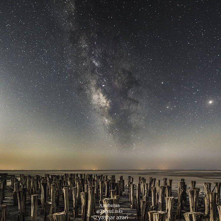 شبهای اورمو گولی - دریاچه ارومیه