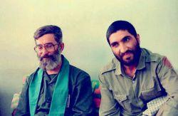 آیتالله خامنهای و حاج احمد کاظمی