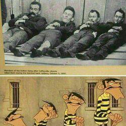 عکس واقعی برادران دالتون
