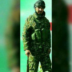محمد امینی از تیپ قهرمان فاطمیون اعزامی از کرمان در سوریه به شهادت رسید