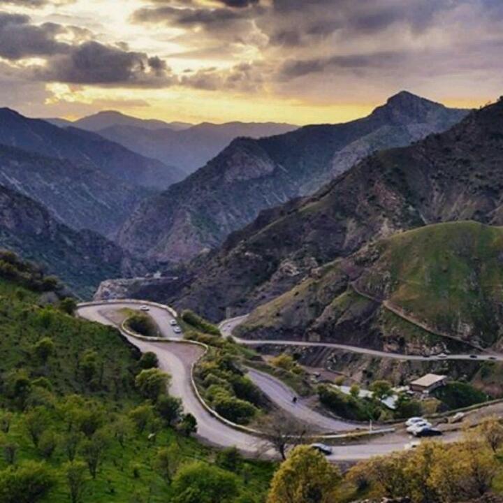 طبیعت شهرستان #پاوه ، استان کرمانشاه