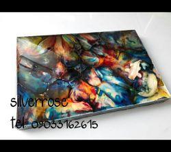 تابلوی نقاشی سه بعدی برکه ی رویا کد۱۰۱ ماهی های روی این کار برجسته هستند  جنسMDF  ابعاد20*30 قیمت 150.000
