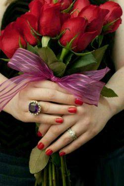بہ رسم ارادت ❤.  زیبااترین گلهاے عاالم...              ...تقدیم به دوستان مرسی که هستین.. عیدمبعث برهمگی مبارک