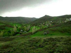 طبیعت بهاری و زیبای روستای قلعه جوق از توابع شهر #کورائیم، استان اردبیل