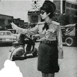 پلیس زن--تهران--سال1349--