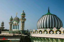 معماری مسجدی زیبا در #چابهار