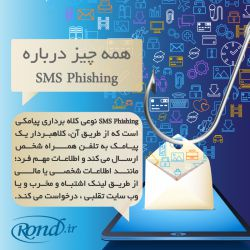 مراقب SMSPhishing و هکرهای پیامکی باشید www.rond.ir/News/958