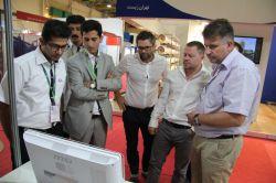 بازدید هیئت های خارجی از غرفه شرکت سازه های آب فعال در دوازدهمین نمایشگاه بین المللی صنعت آب و تاسیسات آب و فاضلاب ایران