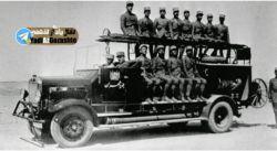 اولین واحد آتش نشانی در تهران..عکسی جالب..اشتباه نکنم سال1320..
