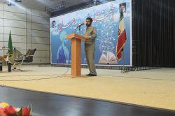 سخنرانی استاندار خوزستان در مراسم اختتامیه فعالیت ستاد طرح معراج در سال تحصیلی 95-96 و تقدیر از مدیران مدارس اجرا کننده طرح