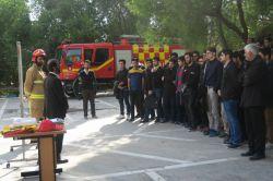 مانور آتش نشانی در روز سه شنبه ۲۹ آذر ماه ۱۳۹۵ در دانشگاه صنعتی امیرکبیر- پردیس ماهشهر برگزار گردید.