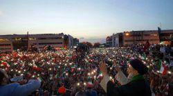 ستاره باران مردم برای ایت الله رئیسی