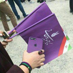 ایوووووول به مــ♡ــا  #تا_1400_با_روحانی   روحانی مچکریمممممم ماچ یو