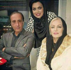 آقای حیاتی مجری شبکه خبر یک ساعت21و..باهمسر و دخترشان واقعادخترشان زیباست