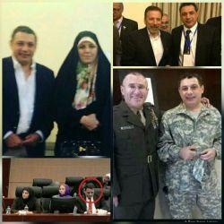 نزار ذاکا جاسوس ارشد سازمان سیا در کنار آقای واعظی و خانم مولاوردی  #جریان_نفوذ