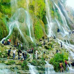 آبشار بیشه لرستان یکی ازجاذبه های بب نظیر دراین استان استان است......