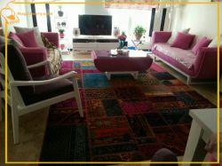 استفاده از فرش مدرن در دکوراسیون منزل