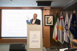 جناب آقای مهندس حسین مهریان -ارائه گزارش عملکرد شورا در سال 1395- مجمع عمومی عادی سالیانه شورا مورخ 8 خرداد 1396