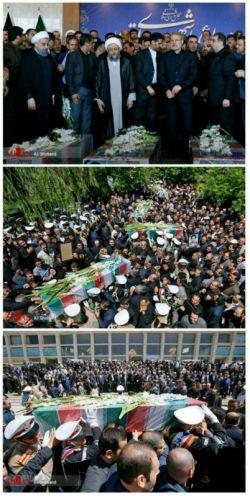 ما محکم تر از همیشه ایستادیم #زنده-باد-ایران