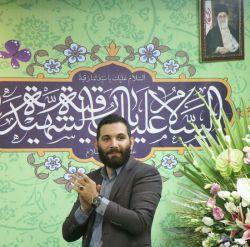 محمد حسین حدادیان-ولادت حضرت رقیه ۱۳۹۶-هیئت مکتب الزهرا شهران