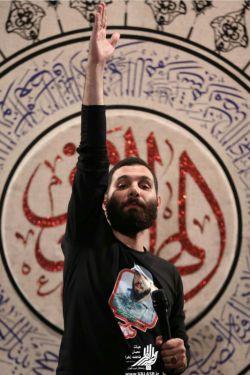 محمد حسین حدادیان-رمضان ۱۳۹۶-هیئت رزمندگان غرب تهران