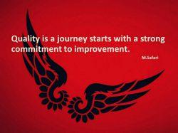 #quality #journey #commitment #improvement #managementquotes