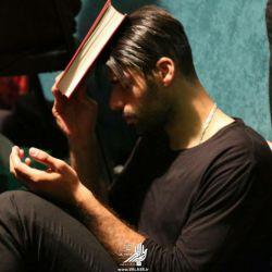 مهدی طارمی در هیئت رزمندگان-شب قدر ۱۹ رمضان ۱۳۹۶
