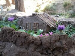 #hamrah1 _ کلبه عشق _تلفیق هنر و معماری از دل طبیعت - شهرستاه هرسین - تابستان 95