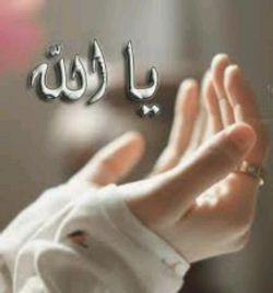 """یا الله...  مستجاب کن دعاى  کسی که تو راصدا میزند   حامی آن دلی باش كه تنها  شده است با دستهاى مهربانت  با تمام قدرت و عظمتت ببار  رحمتت را بر بندگانت    """" آمین """""""