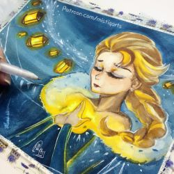 نقاشی-السا-ماجراجویی یخی اولاف