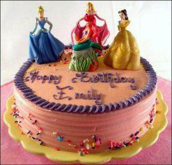 کیک با شخصیت های والت دیزنی