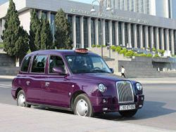 بادمجان تاکسی #باکو - #مسافرنامه