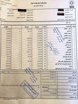 نسخههای نجومی در!برای ٣ شب بستری در بیمارستان اردیبهشت شیراز، بدون هیچگونه جراحی یا مراقبتهای ویژه ٧ میلیون تومان!
