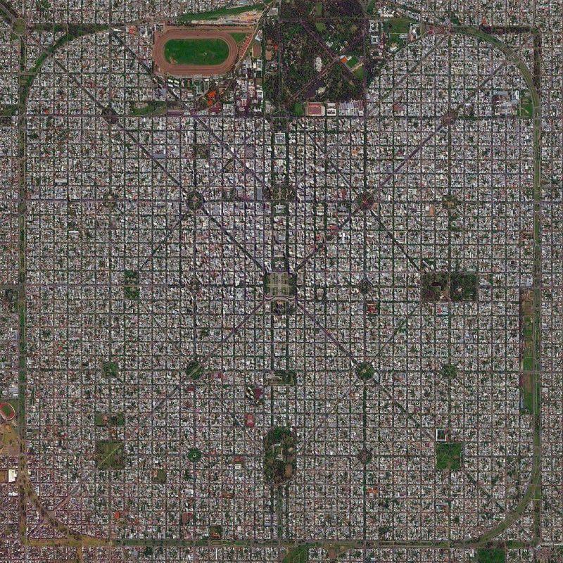 طراحی فوقالعاده شهر #لاپلاتا در #آرژانتین