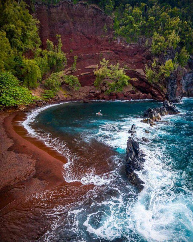 ساحل سرخ، جزیره ماوی، #هاوایی
