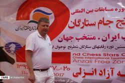 سوپر استاد بزرگ شطرنج آلکسی شیروف ارسال توسط آکادمی شطرنج chessok.ir  الکسی دمتریویچ شیروف (زاده ۴ ژوئیه ۱۹۷۲) استادبزرگ و نویسندهٔ شطرنج لتونیائیالاصل اهل اسپانیا است وی از اوایل دههٔ ۱۹۹۰ تاکنون همواره در جمع بهترین شطرنجبازان جهان قرار داشتهاست. آخرین ریتینگ او در ژوئیه ۲۰۱۰ با ریتینگ ۲۷۴۹ دوازدهمین شطرنجباز برتر در ردهبندی جهانی این ورزش است.