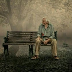 چنان تنهای تنهایم، که حتی نیستم با خود نمی دانم که عمری را چگونه زیستم با خود