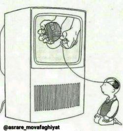 شدت تاثیر رسانهها بر ذهن کودکان.