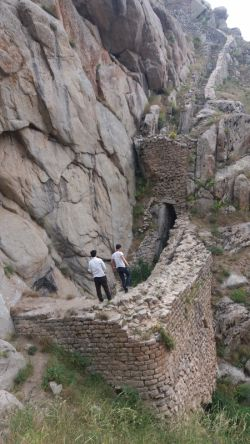 راه قلعه بابک خرمدین