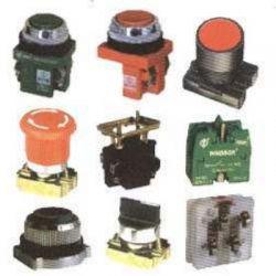 تصاویر تجهیزات تابلو برق انواع شستی استارت و استپ