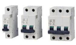 تصاویر تجهیزات تابلو برق انواع فیوز مینیاتوری با آمپرهای مختلف