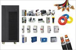 تصاویر تجهیزات تابلو برق انواع کابل و فیوز و کنتاکتور و سینی