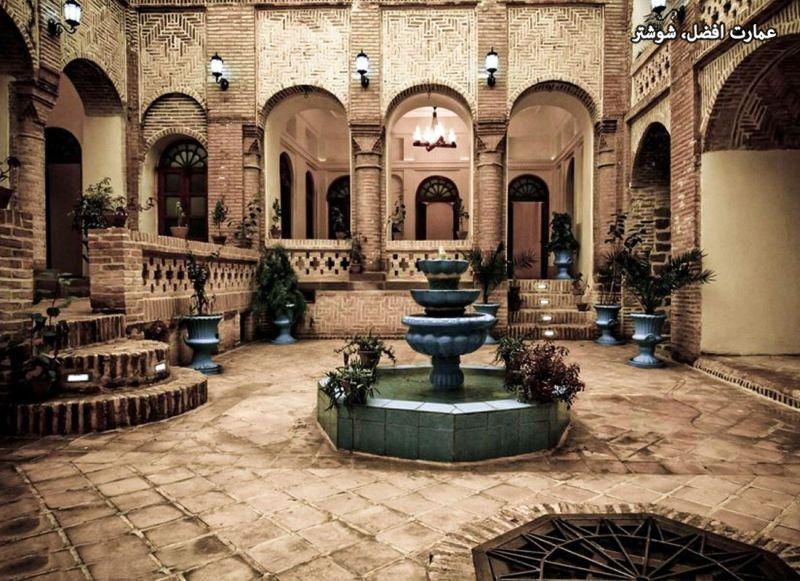 عمارت افضل یکی از اماکن #تاریخی شهر زیبای #شوشتر واقع در استان #خوزستان  کانال رسمی شبکه #آی_فیلم @iFilmFarsi