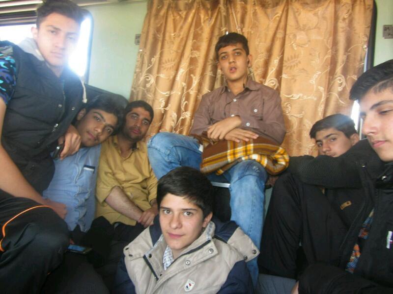 روز اول حرکت  #mashhad
