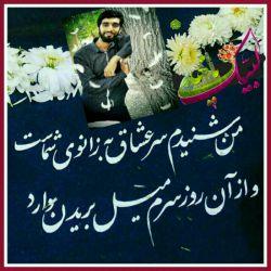 من شنیدم سر عشاق به زانوی شماست..  و از آن روز سرم میل بریدن دارد  #شهید_محسن_حججی