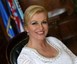 اعلام آماده باش خدمت نمایندگان سلفی بگیر... کولیندا... رئیس جمهور کرواسی زیر 50سال! داره میاد تهران...